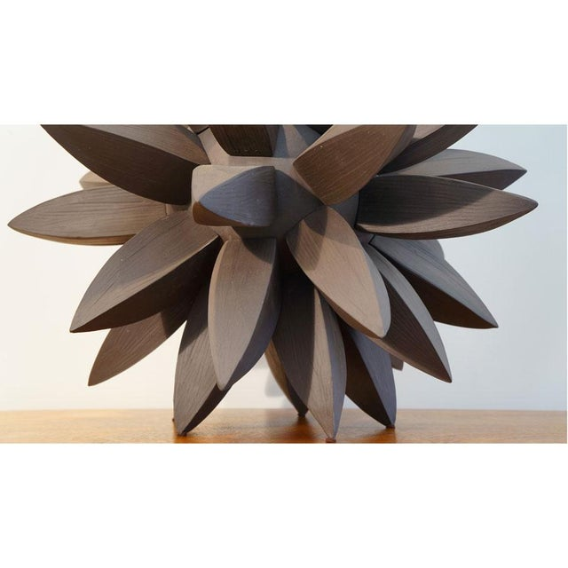 Titia Estes Contemporary Ebony Star Sculpture by Titia Estes For Sale - Image 4 of 6