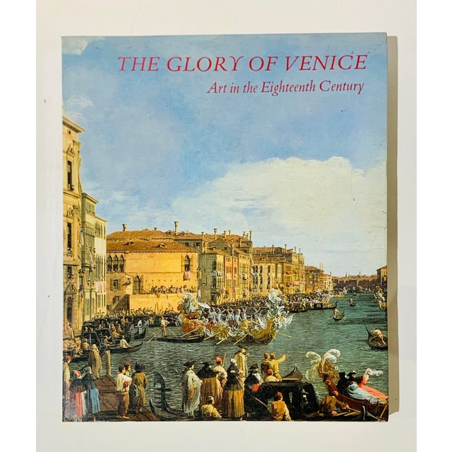 The Glory of Venice Art in the Eighteenth Century Large Format Art Book For Sale - Image 12 of 12