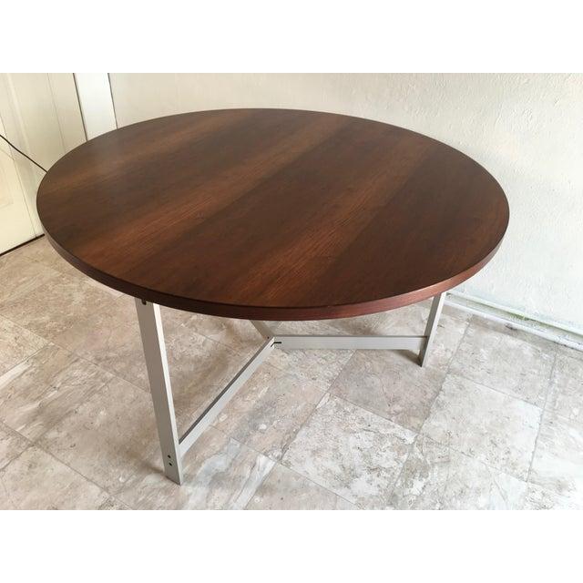 1960s Vintage Jørgen Kastholm & Preben Fabricius Rosewood and Aluminum Center Table For Sale - Image 12 of 12