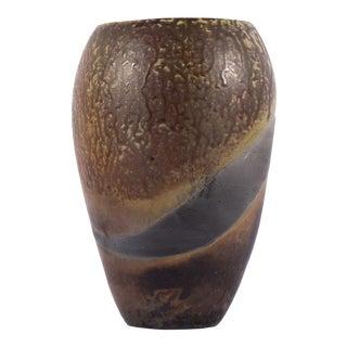 S. Harker 1993 Signed Studio Pottery Vase For Sale