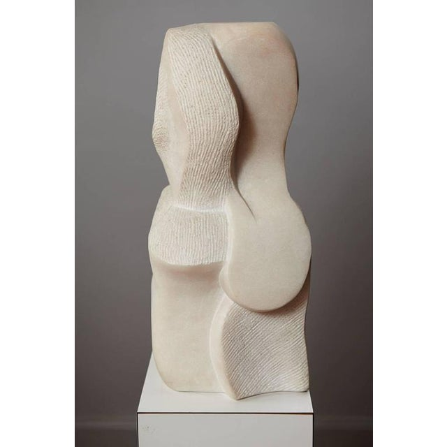 """Artemis"" Modern Portuguese Pink Marble Sculpture by Dolores Singer, 1990 For Sale In New York - Image 6 of 11"