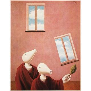 "1972 Rene Magritte, ""Natural Encunters"" Original Photogravure For Sale"
