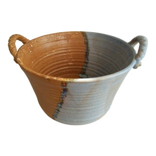 Modern Handmade Pottery Bowl For Sale