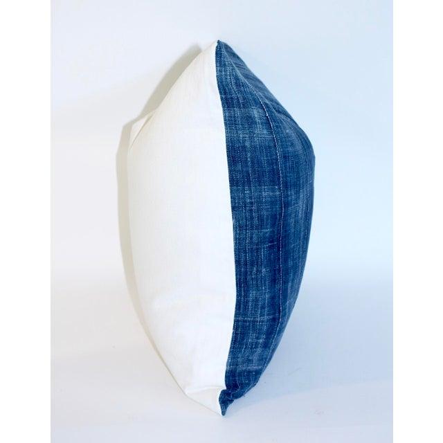 Vintage African Indigo Textile Pillow - Image 4 of 6