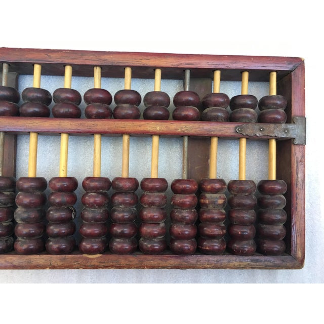 Antique Chinese Wooden Abacus   Chairish