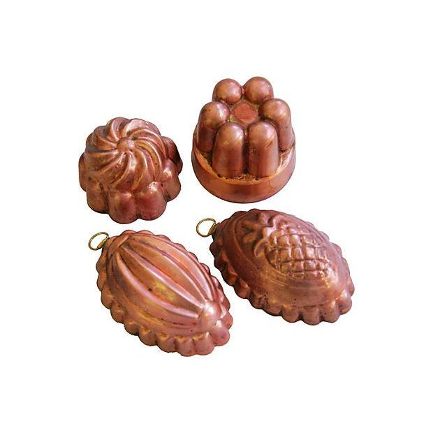 Collection of 1960s Copper Molds - Set of 4 - Image 1 of 7