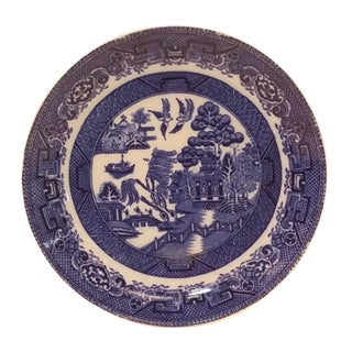 Ye Olde Willow J. Kent Fenton Blue Willow Plate