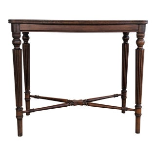 Antique Brandt Furniture Mahogany Accent Table For Sale