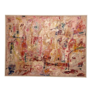 """""""Conscience Dawn"""" by Ellen Reinkraut Original Contemporay Abstract Expressionist Oil on Canvas For Sale"""