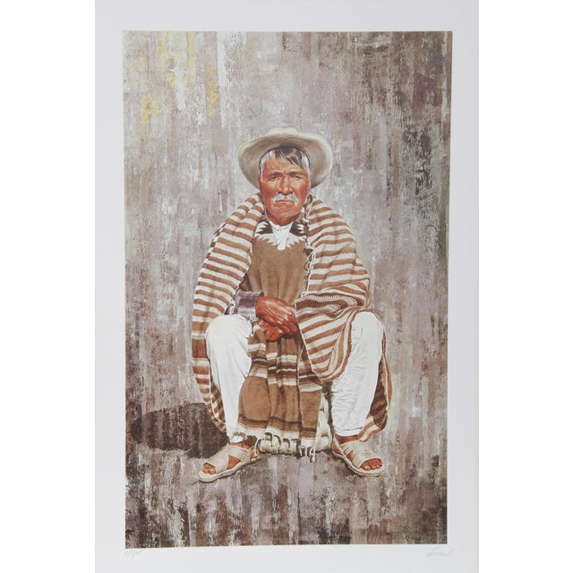 Modern Vic Herman, Patience Is the Companion of Wisdom, Lithograph For Sale - Image 3 of 3