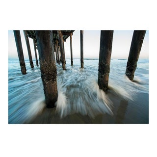 """""""Ocean Grove Fishing Pier - Ocean Grove, New Jersey"""" Contemporary Seascape Photograph Artist's Proof by George Diebold For Sale"""
