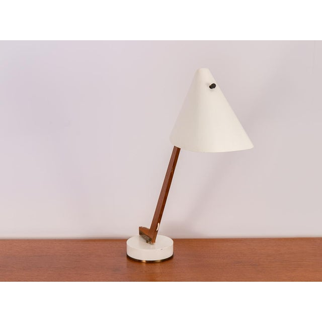 Model B-54 Table Lamp by Hans Agne Jakobsson for Markaryd. A gorgeous 1950s example of organic modern lighting design....