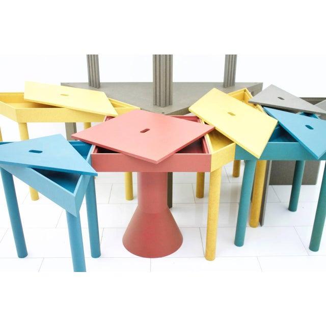 Cassina Massimo Morozzi Tangram Tables for Cassina, 1983 For Sale - Image 4 of 8