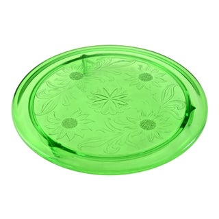 Green Footed Tray