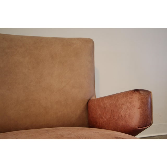 1950s 1950s Vintage Jens Risom for Knoll Custom Lounge Chair For Sale - Image 5 of 13