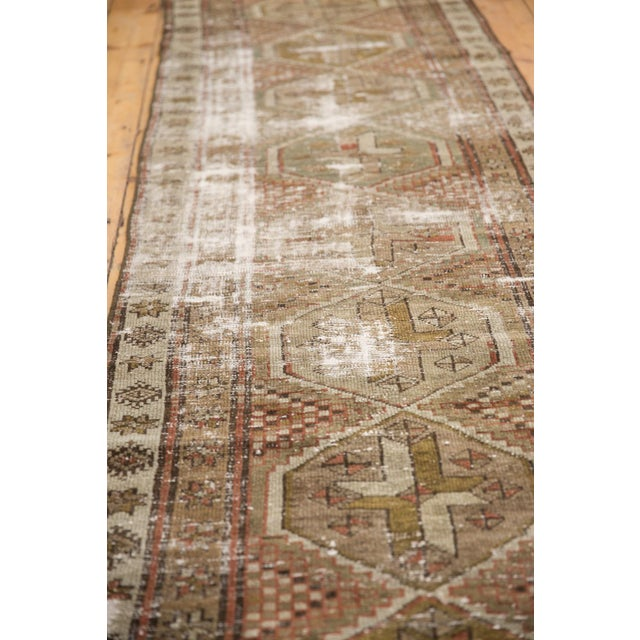"""Vintage Distressed Caucasian Rug Runner - 2'9"""" X 11'1"""" For Sale - Image 10 of 13"""