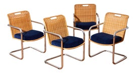 Image of Silver Side Chairs