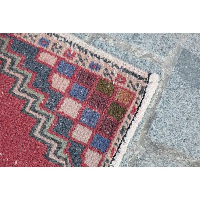 Turkish Nomadic Wool Carpet - 1′8″ × 2′10″ - Image 5 of 9