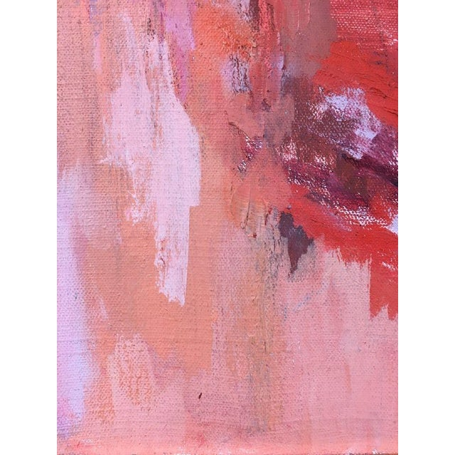 BT Wohl Mid-Century Abstract Oil Painting 1966 - Image 11 of 11