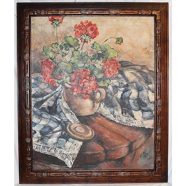 Midcentury Impressionist Painting For Sale - Image 11 of 11