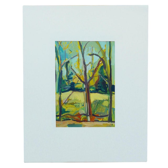 """""""Spring Forest"""" Painting by Martha Holden - Image 1 of 6"""