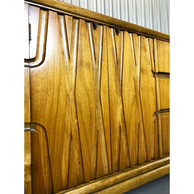 Mid-Century Nine Drawer Dresser - Image 7 of 11