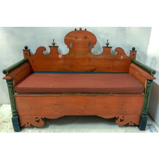 Antique Swedish Bench / Settle Preview