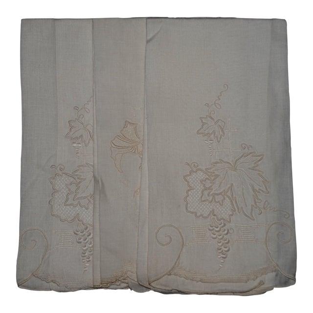 Vintage Embroidered Tea Towels - Set of 3 - Image 1 of 8