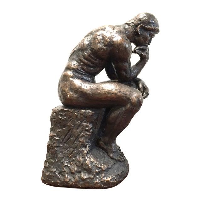 Austin Prod. 1964 Rodin Thinker Statue - Image 1 of 11
