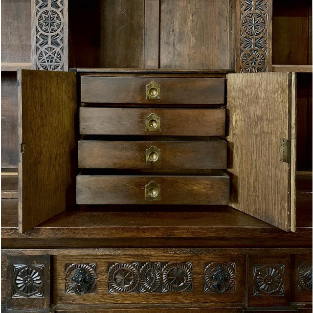 19th Century Renaissance Bookcase For Sale - Image 12 of 13