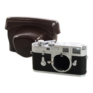 Vintage 1966 Leica M3 #1156xxx Single Stroke Rangefinder Camera