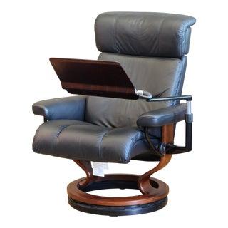 Ekornes Stressless Laptop Table Chair For Sale