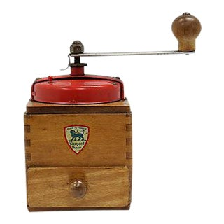 Midcentury French Peugeot Coffee Grinder For Sale