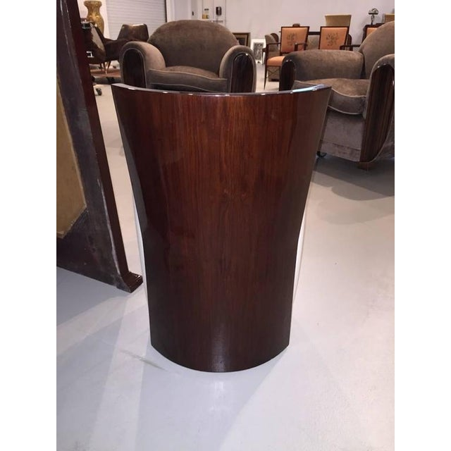 French Art Deco Stool For Sale - Image 4 of 4