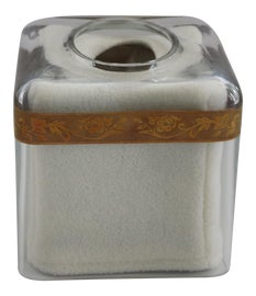 Image of Glass Tissue Box Covers