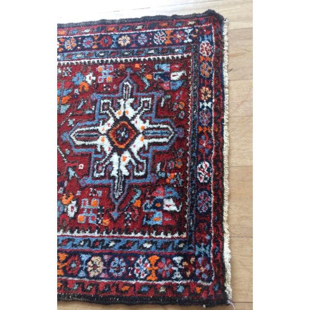1930s 1930s-1940s Karaja Persian Mat For Sale - Image 5 of 13