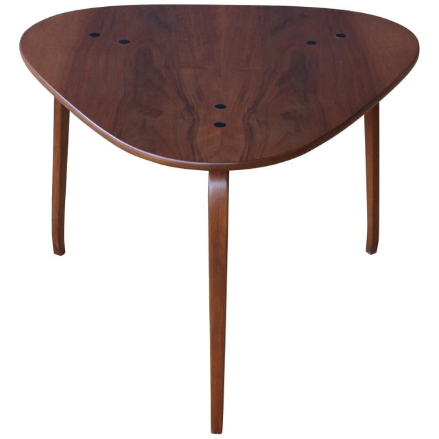 "Yngve Ekstrom ""Krok"" Teak Side Table, Sweden, 1950s For Sale - Image 10 of 10"