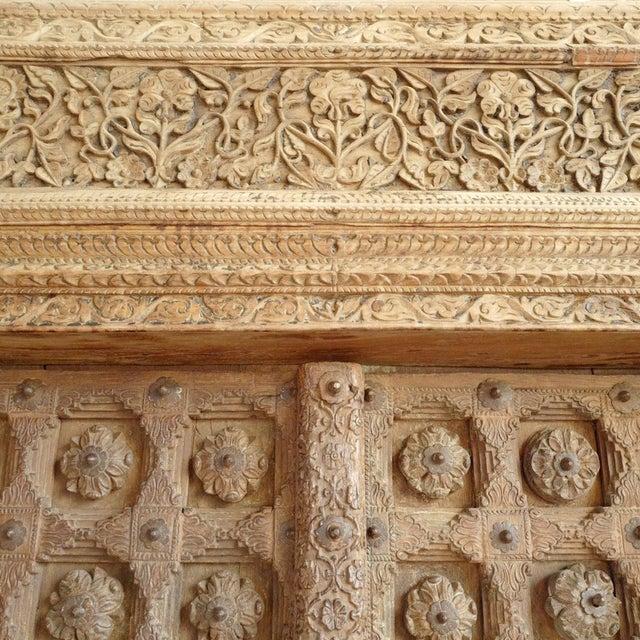 Asian Antique Raja Indian Door For Sale - Image 3 of 7