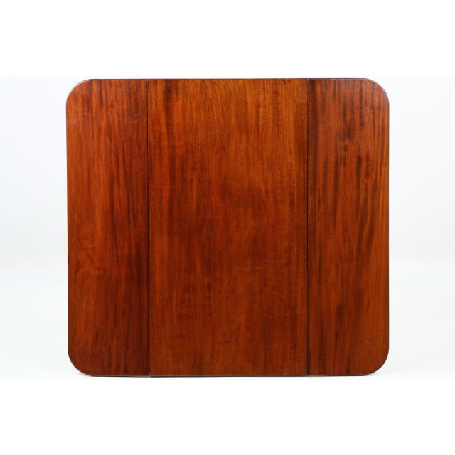 American Classical Mahogany Library Table - Image 10 of 11