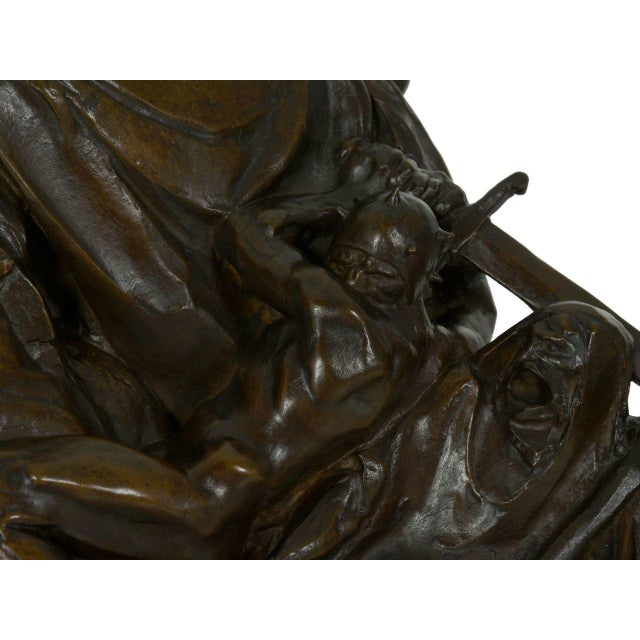 """Brown """"The Four Horsemen of the Apocalypse"""" Bronze Sculpture by Lee Oscar Lawrie (German/American, 1877-1963) For Sale - Image 8 of 13"""