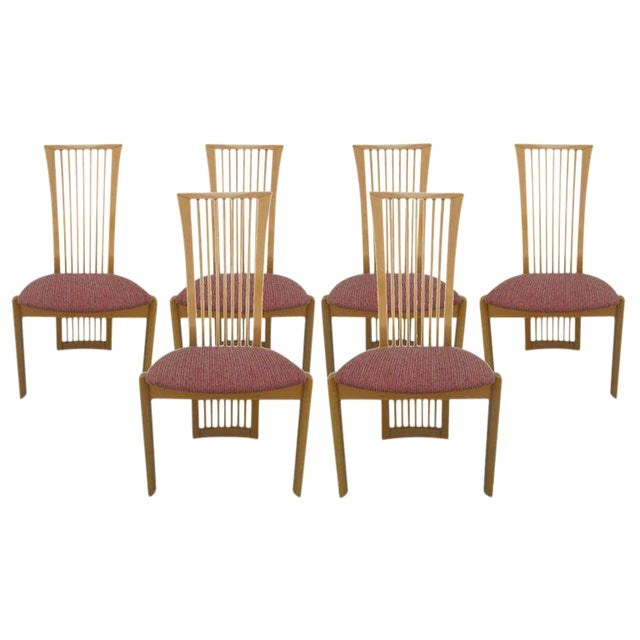 Italian Chairs By Pietro Costantini - Set of 6 For Sale