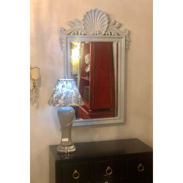 Labarge Hollywood Regency Labarge Wall or Console Mirrors, Italian - a Pair For Sale - Image 4 of 13