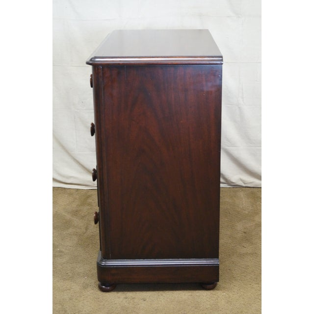 Empire Ralph Lauren Mahogany Empire Style Chest of Drawers For Sale - Image 3 of 10
