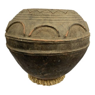 Nigerian Clay Handmade Pot From Napona For Sale