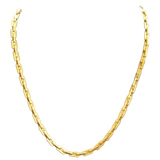 Hermes 'Heracles' 18 Karat Yellow Gold Necklace For Sale