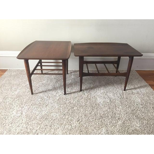 Bassett Side Tables - Pair - Image 5 of 11