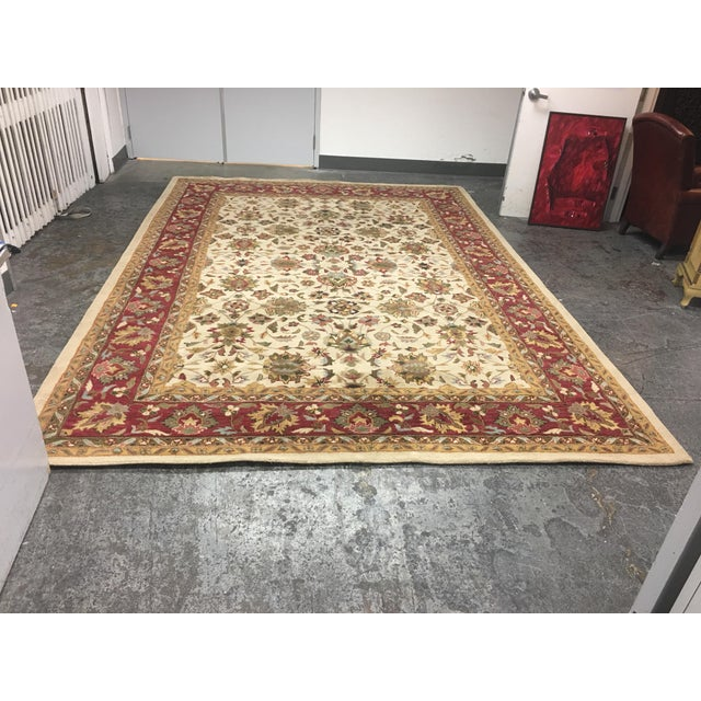 Home Traditions & Textiles Persian Style Wool Rug- 9′4″ × 13′4″ - Image 2 of 7