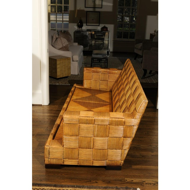 Donghia Stunning Block Island Collection Sofa by John Hutton for Donghia, circa 1995 For Sale - Image 4 of 11