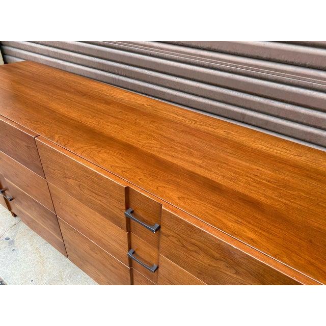 1960s Kipp Stewart for American Design Foundation Mid Century Modern 6 Drawer Dresser For Sale In Los Angeles - Image 6 of 9