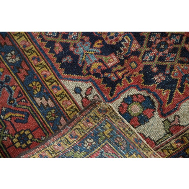 "Vintage Persian Dargezine Rug - 4'8"" X 6'5"" - Image 5 of 8"